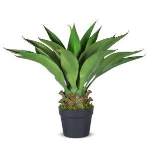 Kunstplant Agave vetplant H60cm - HTT Decorations