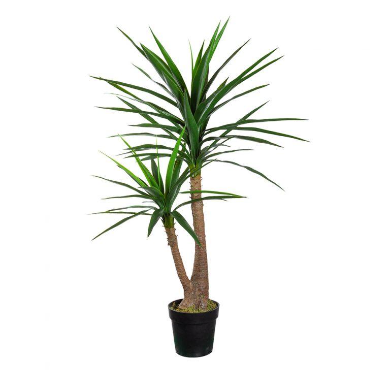 Kunstplant Yucca H120cm - HTT Decorations