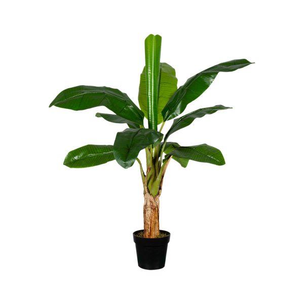 Kunstplant Bananenplant H130cm - HTT Decorations