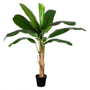 Kunstplant Bananenplant H150cm - HTT Decorations